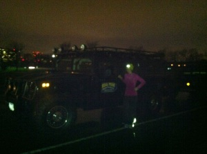A bit blurry, post workout, but this truck is no joke!