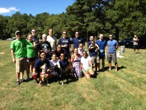 Team DC--race participants, volunteers and instructors.