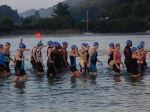 Race day (Swim 3)
