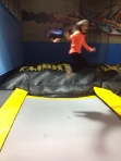 Flight Trampoline, me in action