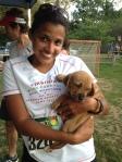 Lost Dog 5K race 3 2014 Nicole