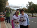 Stache Dash 2014 (me and Gina)
