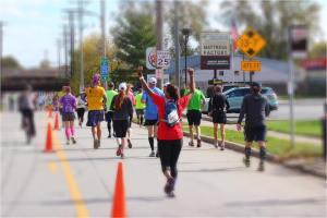 Nicole marathon 1