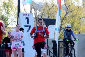 Nicole marathon 2