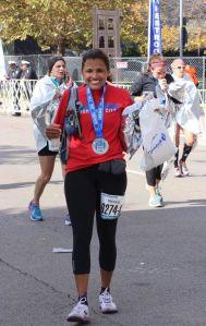 Nicole marathon 5
